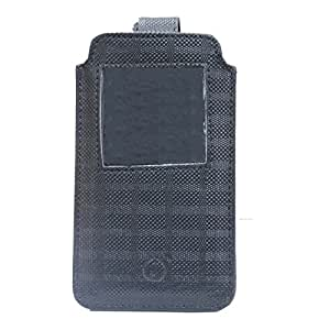 Jo Jo A10 D4 Leather Carry Case Pouch Wallet S View Fo Huawei Maimang 5 Black