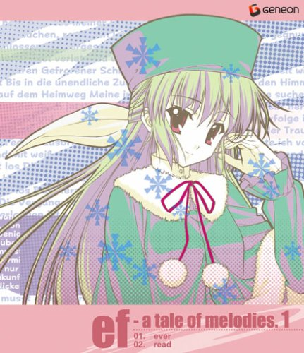 ef ? a tale of melodies. Blu-ray 1(Blu-ray) (初回限定版)