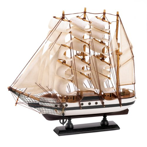Gifts & Decor Passat Tall Ship Detailed Wooden Model Nautical Decor (Sailboat Model compare prices)