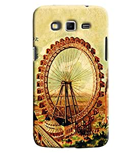 Clarks London Eye Hard Plastic Printed Back Cover/Case For Samsung Galaxy Grand 2