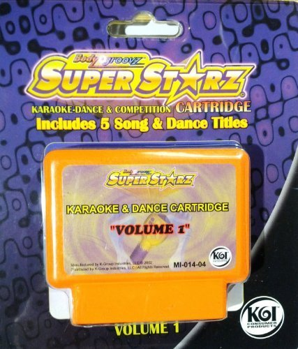 Body Groovz Super Starz Cartridge, Volume 1 - 1