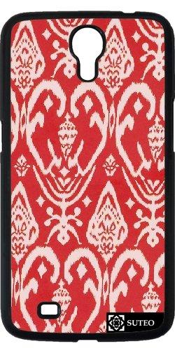 Hülle für Samsung Galaxy Mega 6.3 (GT-I9205) - Künstlerische Entwürfe Rot und Weiß - ref 901
