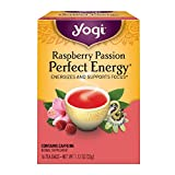 Yogi Tea, Raspberry Passion Perfect Energy, 16 Count