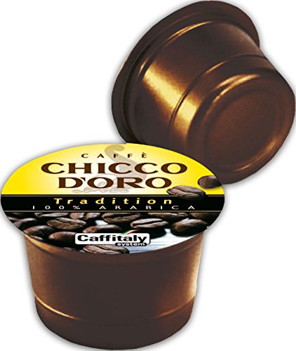 Choose 60 Chicco d'Oro Coffee Capsules Tradition 100% Arabica - Caffè Chicco d'Oro