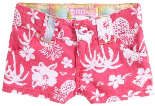 Roxy bambini Short Hey Baby, Ragazzo Bambina, rosso