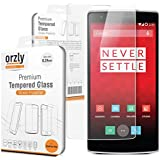 Orzly ORZTGSCRPRO Premium Tempered Glass 0.24mm Ultra Slim Screen Protector for OnePlus One
