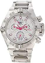 Invicta Subaqua Chronograph Silver Dial Stainless Steel Mens Watch 11872