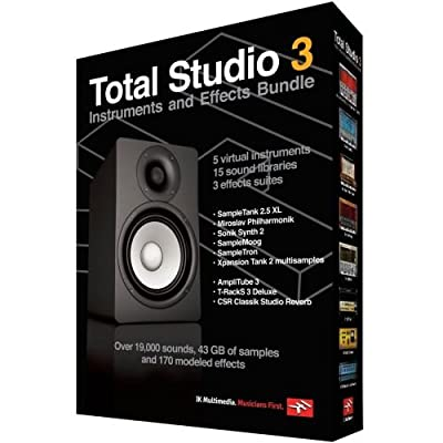 IK Multimedia Total Studio 3 Bundle from Hal Leonard Corporation (Consignment)
