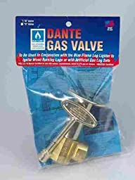 Canterbury Fireplace Gas Valve 1/2 \