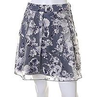 (クリアインプレッション)Clear Impression シフォンフラワープリントスカート