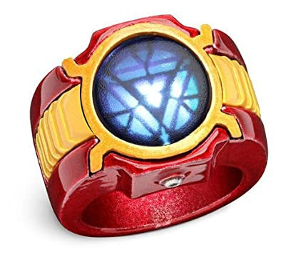 Iron Man Arc Reactor Ring Iron Man 3 Led Arc Reactor