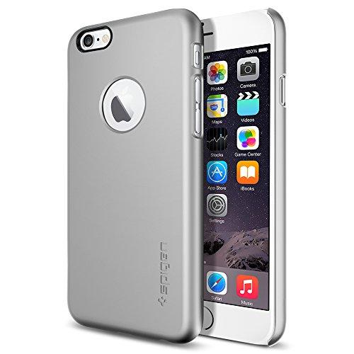 iPhone 6 ケース Spigen Apple iphone 4.7 (2014) シン・フィットA (国内正規品) (サテン・シルバー SGP10942)