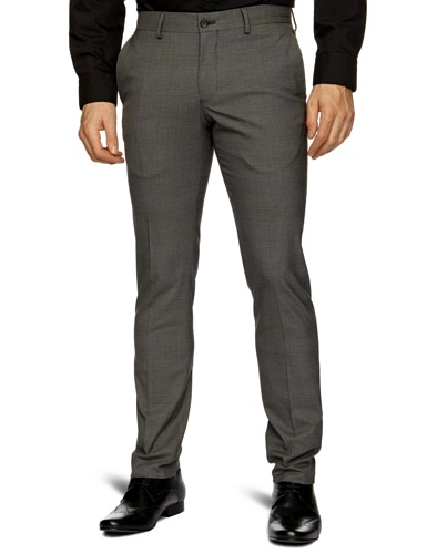 Selected Homme Walton T Skinny Men's Trousers Check W28 INxL32 IN