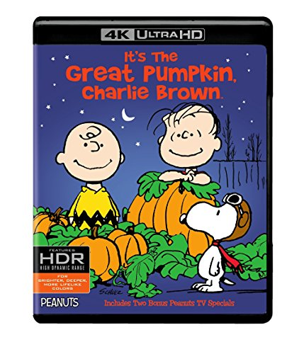 4K Blu-ray : It's the Great Pumpkin, Charlie Brown (With Blu-Ray, 4K Mastering, Ultraviolet Digital Copy, 2 Pack, 2 Disc)