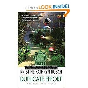 Duplicate Effort: A Retrieval Artist Novel (Retrieval Artist Novels) by Kristine Kathryn Rusch