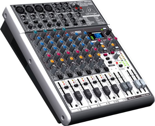 Behringer Xenyx X1204Usb | Premium 12-Input 2/2-Bus Mixer With Xenyx Mic Preamps And Usb/Audio Interface front-394704
