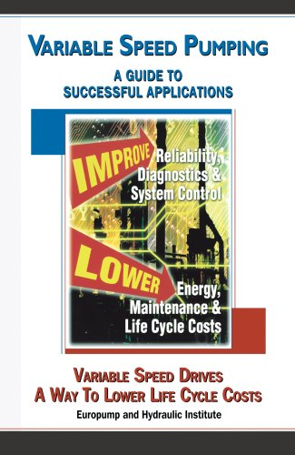 Variable Speed Pumping: A Guide To Successful Applications
