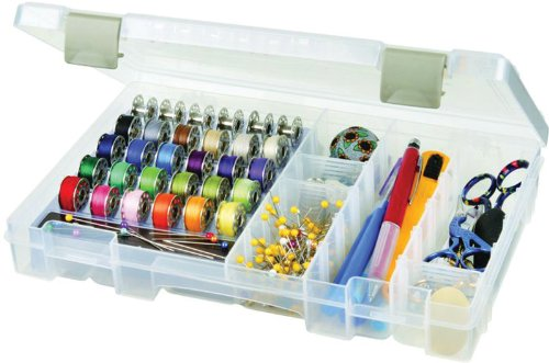 Check Out This Art Bin Sew-Lutions Bobbin & Supply Box 6911AB