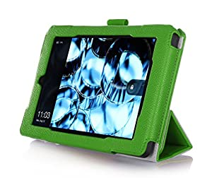 Fire HD 7 Case (2014 Release, 4th Generation) with bonus stylus pen - ProCase Tri-Fold Stand Folding Cover Case for for New Amazon Fire HD 7 Tablet 2014 Edition (will only fit 2014 Fire HD 7, 4th Generation) (Green)