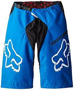 Fox Demo Downhill Short Homme Bleu FR : XS (Taille Fabricant : 28)