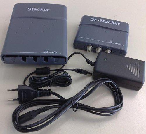 Stacker De-Stacker (deStacker) Multikonverter Einkabellösung für Sat-Empfang (ONECABLE) NEU: Mit DiseqC Übertragung