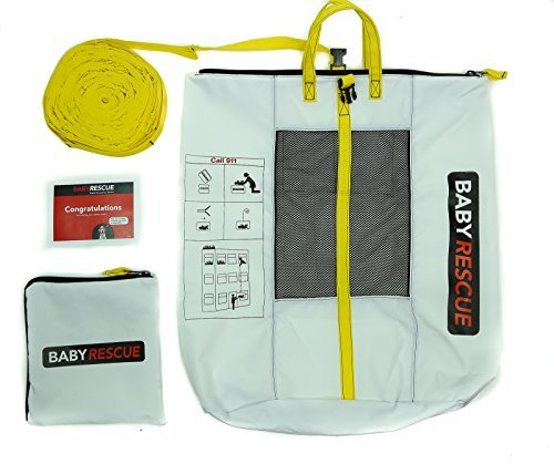 Baby Rescue Child Fire Rescue Emergency Rapid Evacuation Device (White)