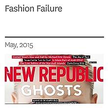 Fashion Failure (       UNABRIDGED) by Gemma Sieff Narrated by Derek Shetterly