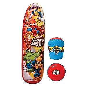 "Super Hero Squad Bop Bag/Glove Combo ~ 36"""