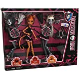 Monster High Fearless Y7297 Toralei & Meowlody & Purrsephone