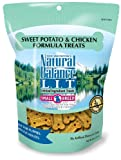 Natural Balance Limited Ingredient Treats Sweet Potato and Chicken Formula for Dogs, 8-Ounce Bag