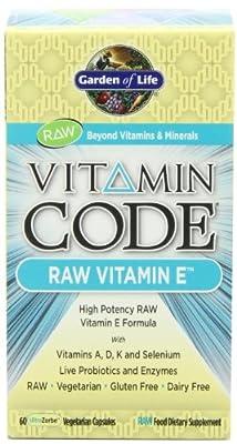 Garden of Life Vitamin Code - Raw Vitamin E