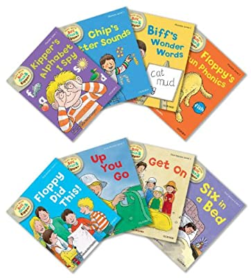 Oxford Reading Tree Read With Biff, Chip, and Kipper: Level 1: Pack of 8