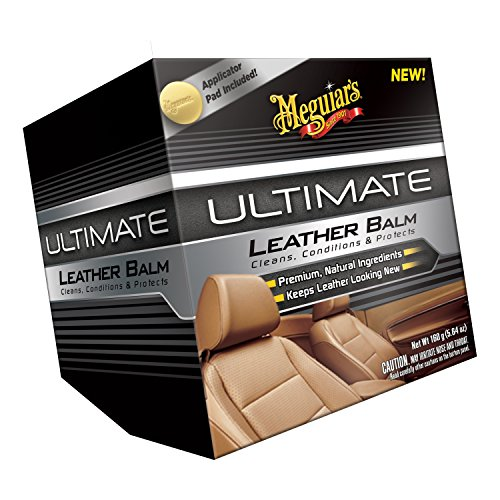 Meguiar's G18905 Ultimate Leather Balm, 5.64 oz. (Maguires Leather Conditioner compare prices)