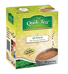 Quick Tea Cardamom Chai - 10 Pouches
