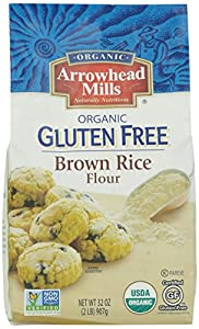 Amazon.com: Arrowhead Mills Organic Brown Rice Flour, 2