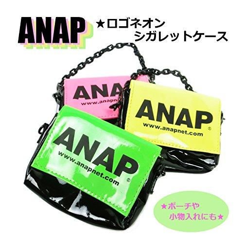 【ANAP】ネオンロゴシガレットケース
