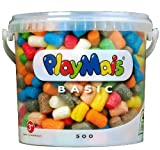 PlayMais Modelling Material Bucket (500 Pieces)