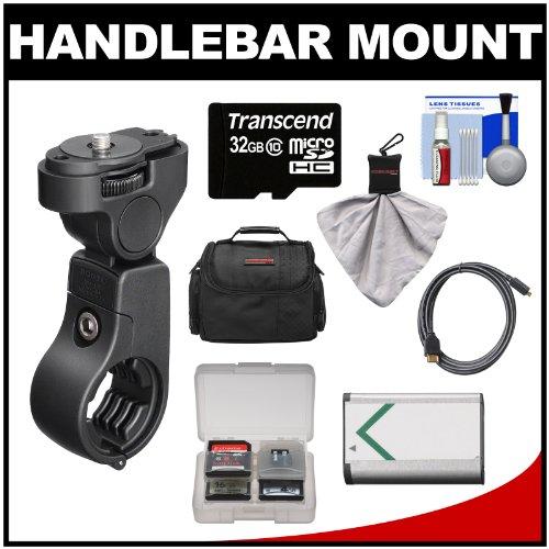 Sony VCT-HM1 Handlebar Mount  32GB Card + NP-BX1