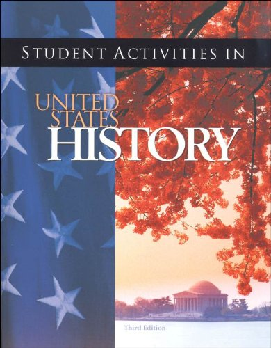Student Activities in United States History for Christian Schools