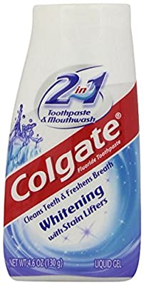 Colgate 2 in 1 Whitening Toothpaste, 4.6 Oz