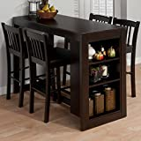 Jofran Maryland Counter Height Storage Dining Table
