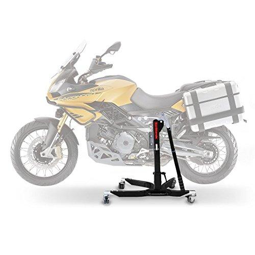 Motorrad-Zentralstnder-ConStands-Power-Aprilia-Caponord-1200-Rally-15-16-AdapterRollen-inkl