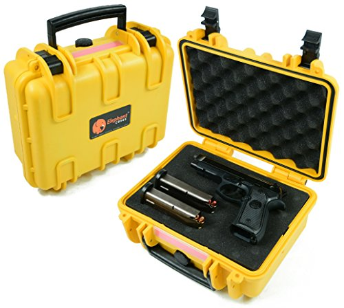 Elephant E150 Yellow Case with Foam for Camera, Video, Guns, Test and Metering Equipment Waterproof Hard Plastic Case