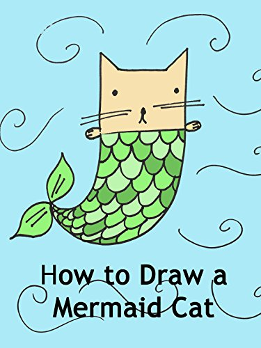 How to Draw a Mermaid Cat