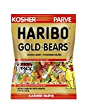 Kosher Haribo Gold Bears (Pack of 6), 5.29oz/150g Each