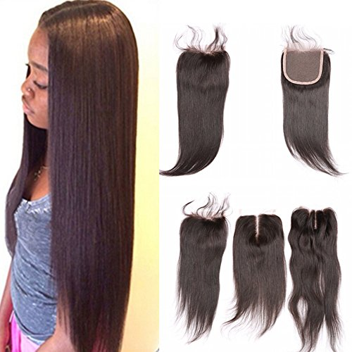 E-forest-hair-7A-Closure-Virgin-100-Brazilian-Remy-Human-Hair-Free-Part-Silky-Straight-44-Top-Lace-Closure-Natural-Black-10-inch130-Density-Baby-Hair-498Hj-03
