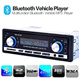 Kingtoys® Autoradio digital Media Receiver mit Bluetooth Freisprecheinrichtung und Abspielfunktion
