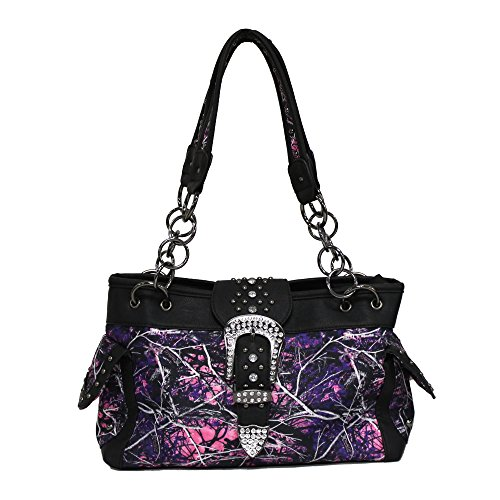 Muddy Girl Concealed Handgun Satchel Purse