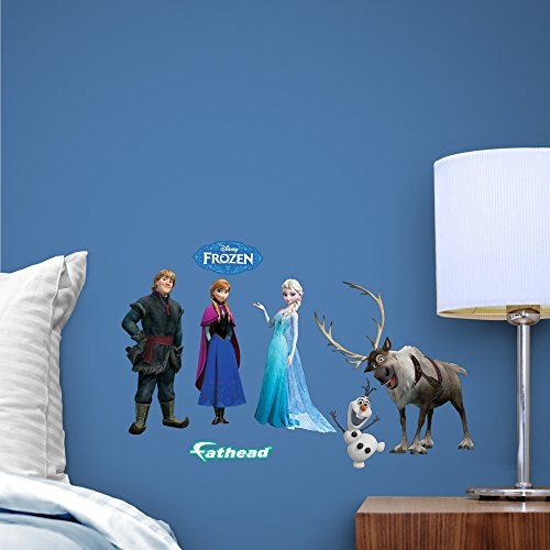 Fathead Disney Frozen Team Set Anna, Elsa and Olaf