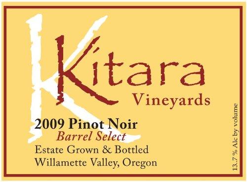 2009 Kitara Barrel Select Pinot Noir 750 Ml